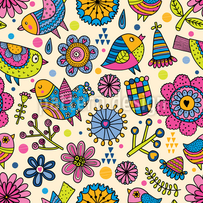 Garden Fun Pattern Design