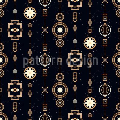 Magical Garlands Vector Design