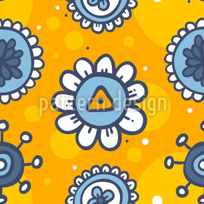 Blumen im Sommer Muster Design
