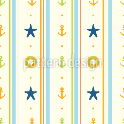 Holiday at the Sea Vector Design