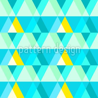 Disco Triangle Seamless Pattern
