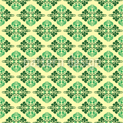 Oriental Delight Pattern Design