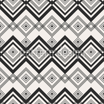 Zigzag Crossing Pattern Design