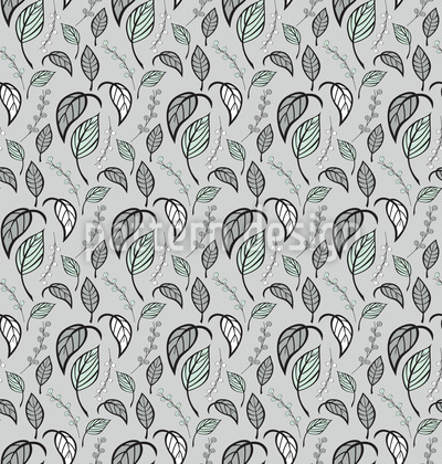 Turning Leaf Vector Pattern