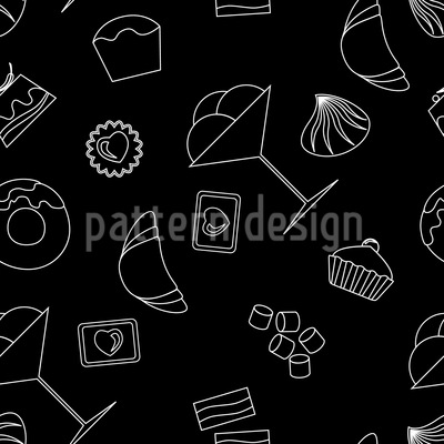 Passion For Pastry Repeat Pattern