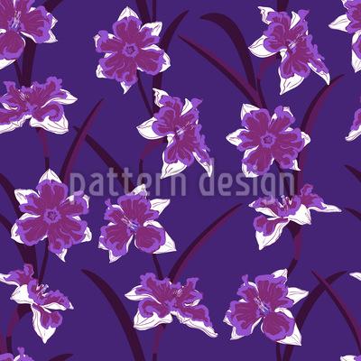 Daffodil Beauty Vector Pattern