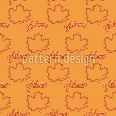 Kalligraphie Herbst Rapport