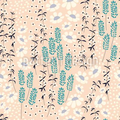 Frühling Rund Herum Muster Design