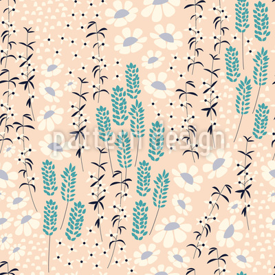 Spring Is All Around Pattern Design
