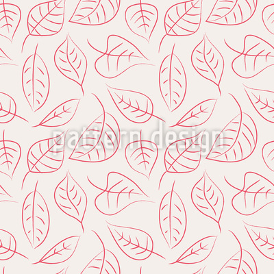 Scrapbook Leaves Vector Ornament