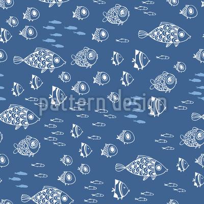 Mittelmeer Nahtloses Muster