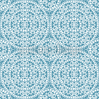Antike Eleganz Vektor Muster