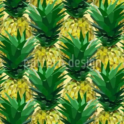 Geometric Pineapple Design Pattern