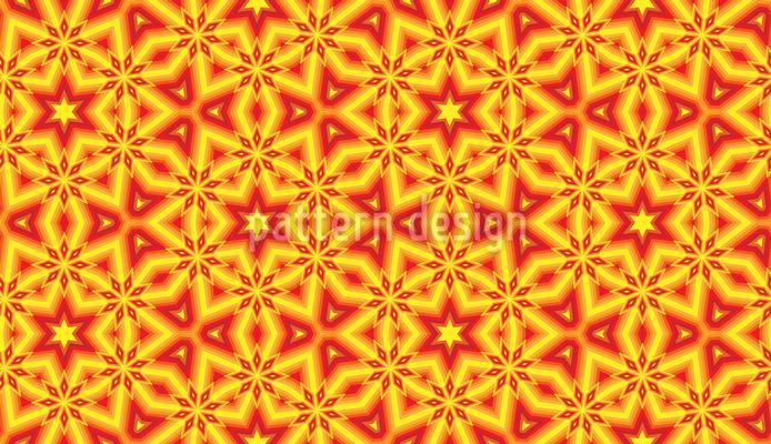 Star Glow Seamless Pattern