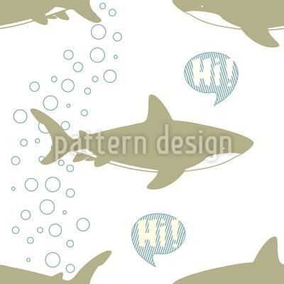 Greeting Sharks Vector Design