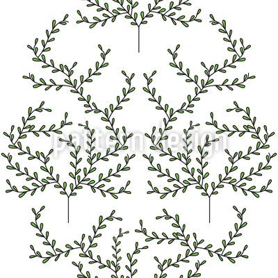 Zarte Bäume Vektor Design