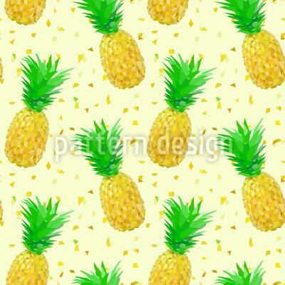 Ananas Geometrie Vektor Muster