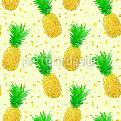 Pineapple Geometry Vector Pattern