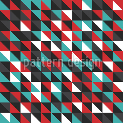 Diagonal Mosaic Repeat Pattern