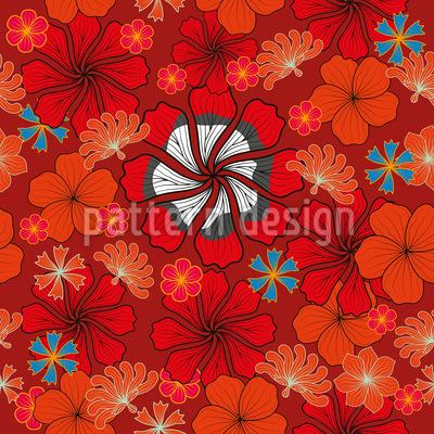 Blumen Der Freude Musterdesign