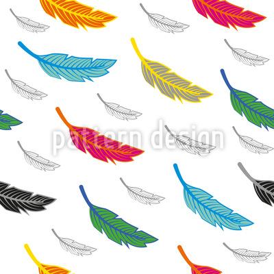 Fliegende Federn Designmuster