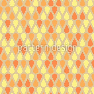 Shimmering Drops Seamless Vector Pattern