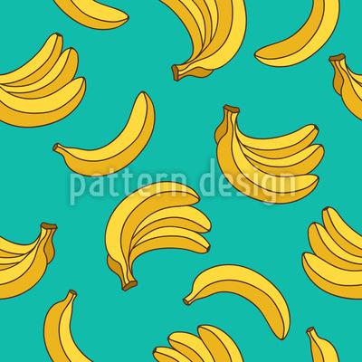 Sommer Bananen Designmuster