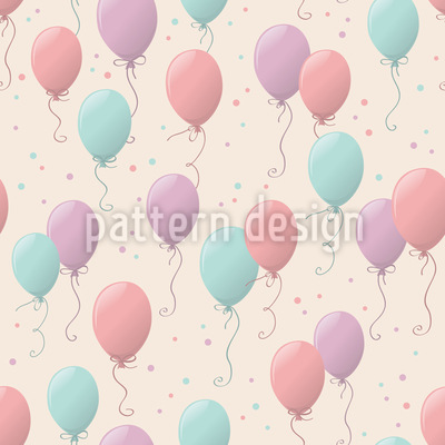 Birthday Ballons Pattern Design
