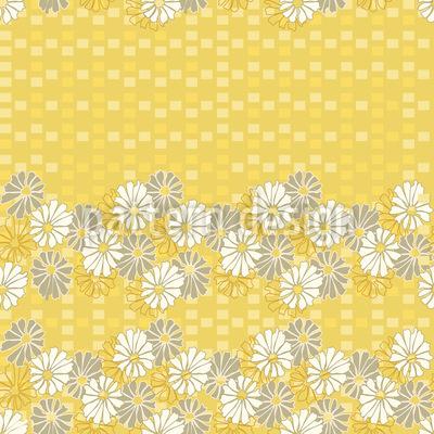 Sommer Gänseblümchen Nahtloses Muster