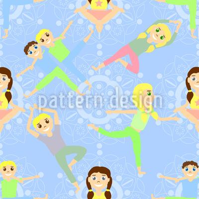 Kinder Yoga Rapport
