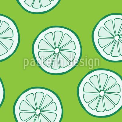 Limette Designmuster