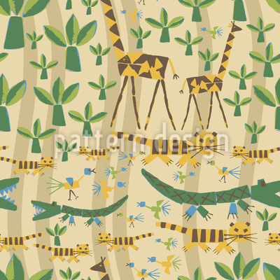 Savanna Pattern Design