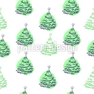 Unter dem Weihnachtsbaum Vektor Ornament