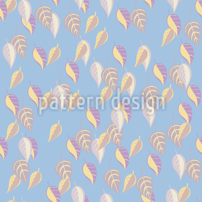 Bright Autumn Leaves Seamless Pattern