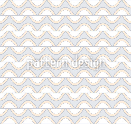 Waving Stripes Pattern Design