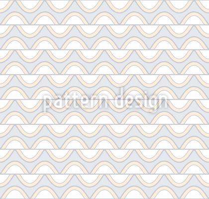 Wellende Streifen Muster Design