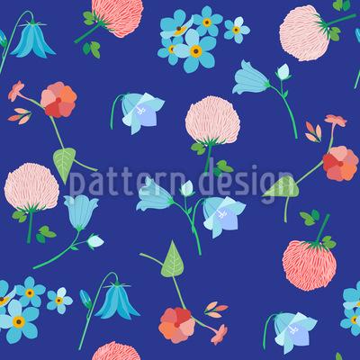 Sommerwiesen Impressionen Designmuster