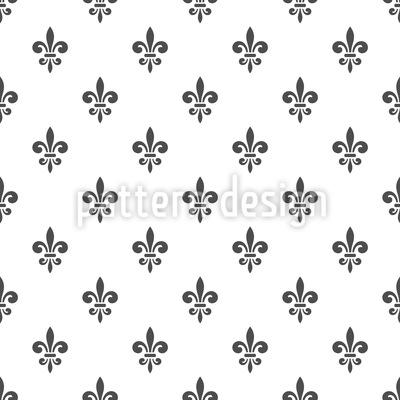 Französisches Fleur-de-Lis Muster Design