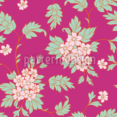 Bouquet Pink Rapportmuster