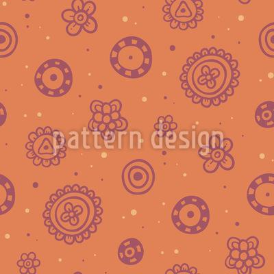 Blumen Spass Vektor Muster