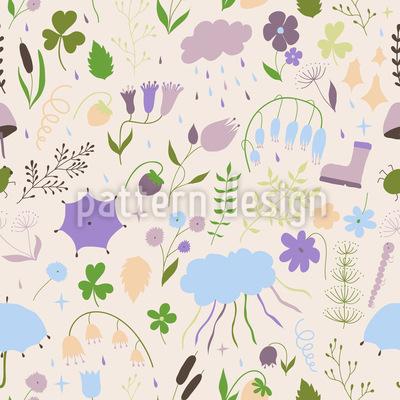 Von der Natur inspiriert Vektor Design
