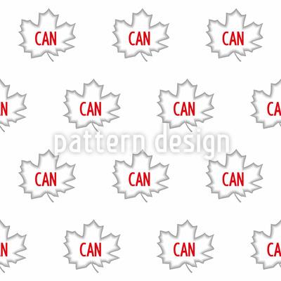 Kanada Nahtloses Muster