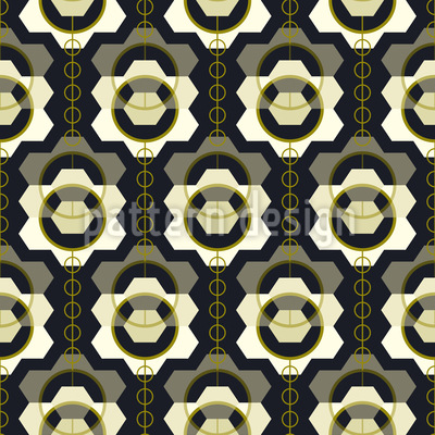 Floral Impression Repeat Pattern