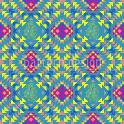 Mexikanische Art Muster Design