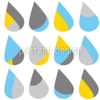 Der Regen Vektor Design
