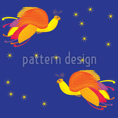 Fabulous Firebird Pattern Design
