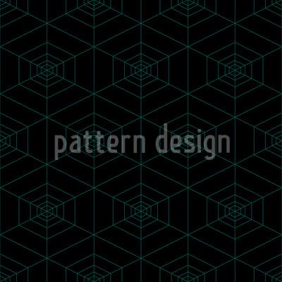 Spinnennetz Bei Nacht Muster Design