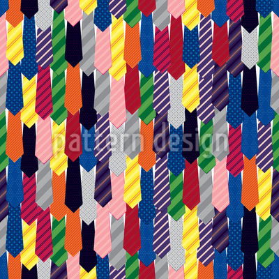 Krawatten Nahtloses Muster