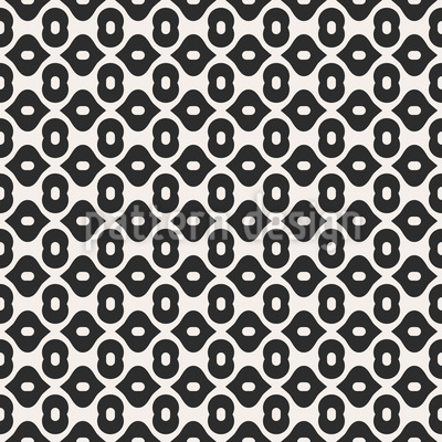 Morphed Shapes Repeat Pattern