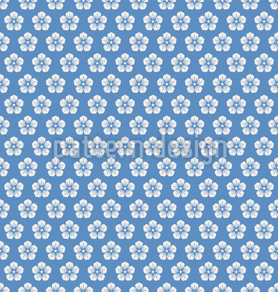 Hawaiian Blossoms Pattern Design